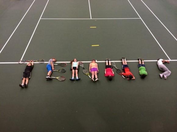 Фото дня: подарок к Всемирному дню тенниса