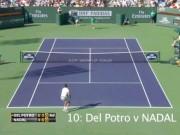 Топ-10 розыгрышей 2013 года на турнире в Индиан-Уэллсе (видео)