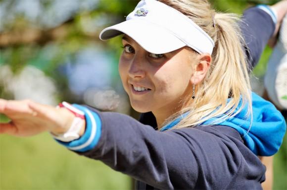 Елена Веснина готовится к очередному турниру