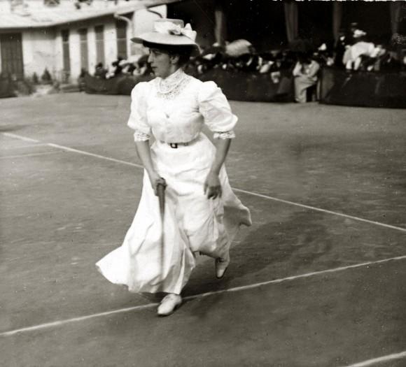 Эволюция теннисной моды