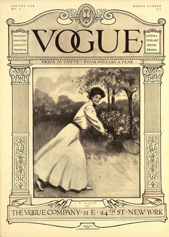 Vogue, Август 1907. Иллюстрация C. F. Freeman