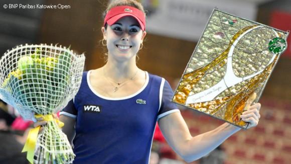 Ализе Корне выиграла турнир в польском Катовице