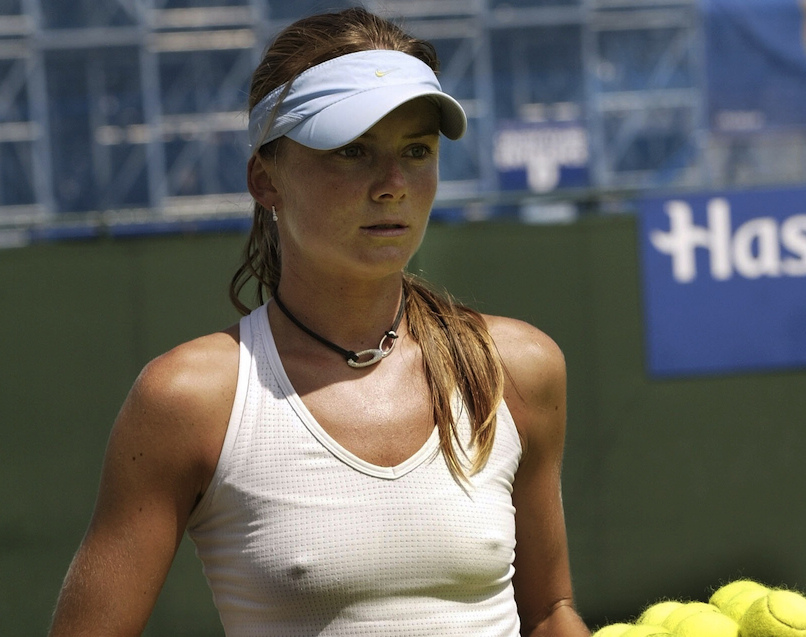 Topic women tennis players nip slip have faced