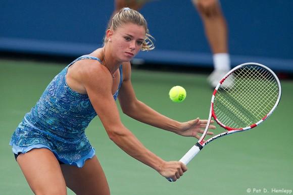 Камила Джорджи на турнире Женской Теннисной Ассоциации
