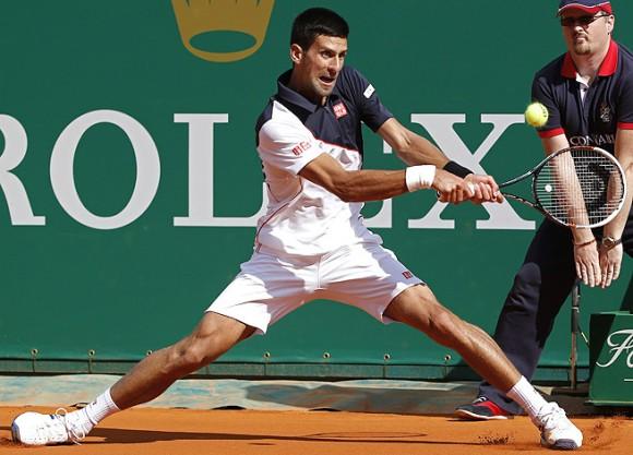 Новак Джокович вышел в полуфинал турнира в Монте-Карло
