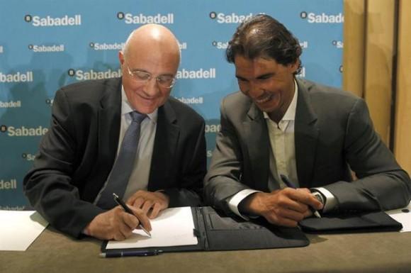 Рафаэль Надаль стал представителем испанского банка