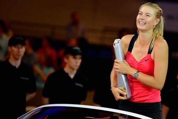 Мария Шарапова выступит на турнире Porsche Tennis в Германии