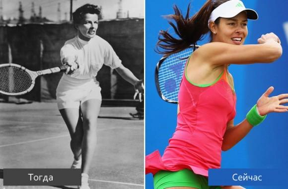 Эволюция теннисной моды, 1900-2011 годы