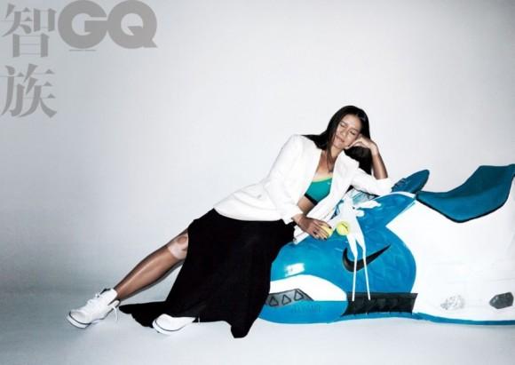 Китаянка Ли На появилась на обложке журнала GQ