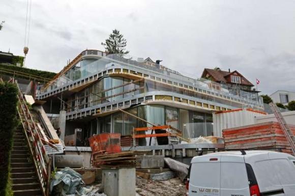 Фотографии нового строящегося дома Роджера Федерера
