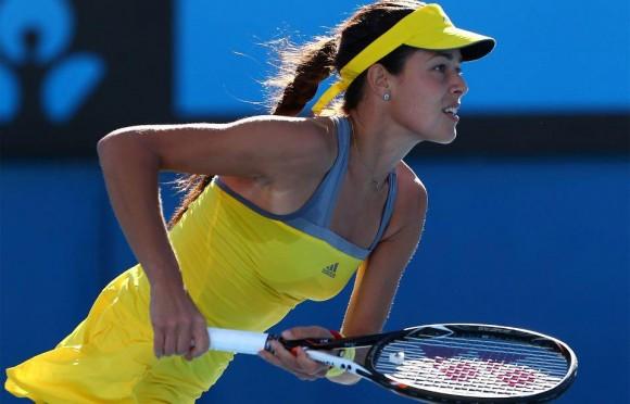 Ана Иванович на Открытом Чемпионате Австралии по теннису