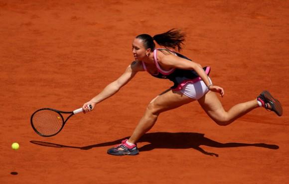 Елена Янкович на Roland Garros в Париже