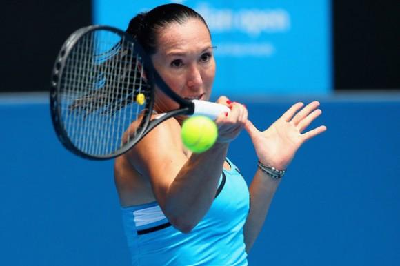 Елена Янкович на Открытом Чемпионате Австралии по теннису