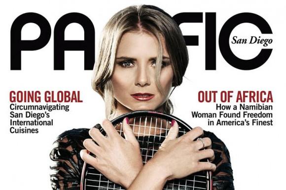 Даниэла Гантухова появилась на обложке журнала Pacific