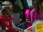 Фотографии с первого матча Рафаэля Надаля на турнире в Риме