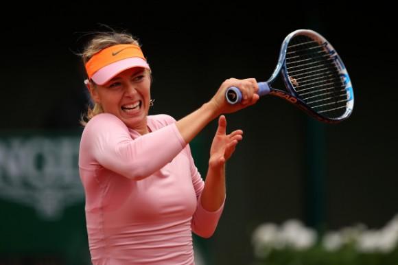 Мария Шарапова на Открытом Чемпионате Франции