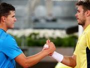 Лучшие розыгрыши матча Доминика Тима и Станисласа Вавринки в Мадриде