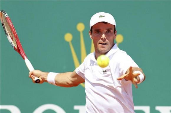 Роберто Баутиста Агут на Открытом Чемпионате Франции по теннису