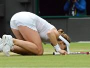 Корне поцеловала корт после победы над Уильямс в Лондоне