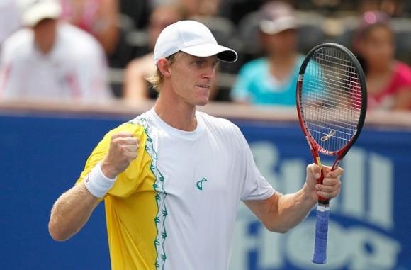 Кевин Андерсон очень высокий теннисист из ЮАР