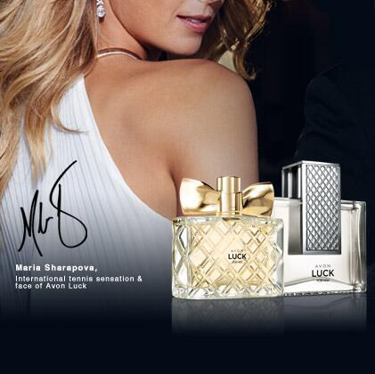 Мария Шарапова стала лицом рекламной кампании Avon