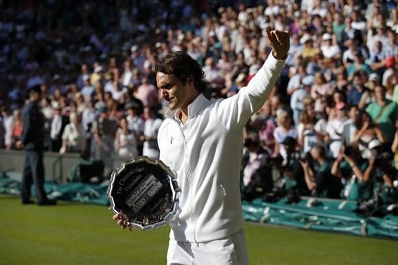 Федерер проиграл в финале сербу Новаку Джоковичу