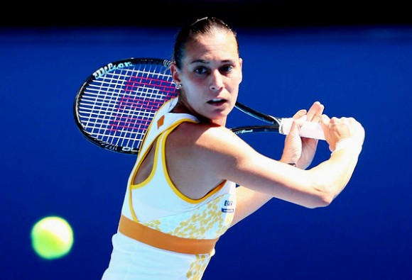 Флавиа Пеннетта на Открытом Чемпионате Австралии по теннису