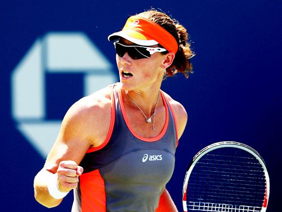 Саманта Стосур в 2011 году выигрывает US Open