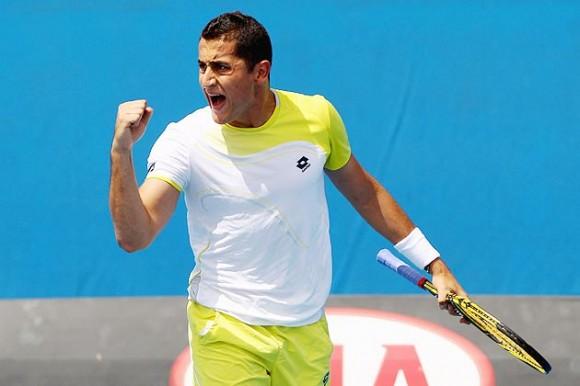Николас Альмагро на Открытом Чемпионате Австралии по теннису