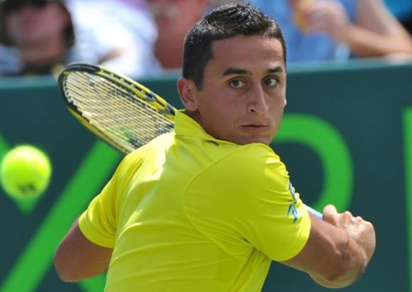 Николас Альмагро на турнире ATP в Майами