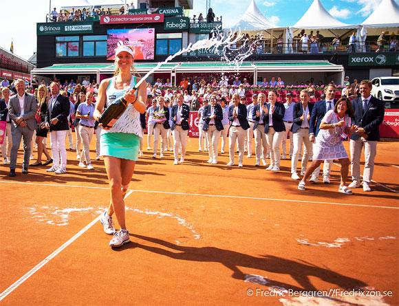 Мона Бартель выиграла турнир в Бостаде