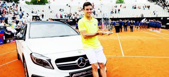 Роберто Баутиста Агут выиграл турнир ATP в Штутгарте