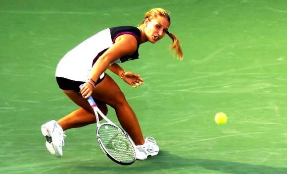 В 2014 году Доминика Цибулкова дошла до финала Australian Open