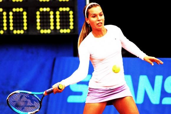 Словацкая теннисистка на Открытом Чемпионате Австралии по теннису