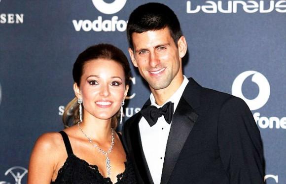 Новак Джокович женился в четверг на своей девушке