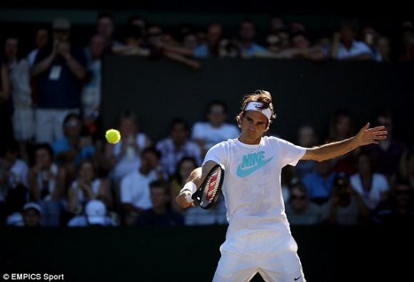 Федерер: «Нужно пытаться зацепиться за прием»