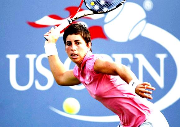 Карла Суарес Наварро на Открытом Чемпионате США по теннису