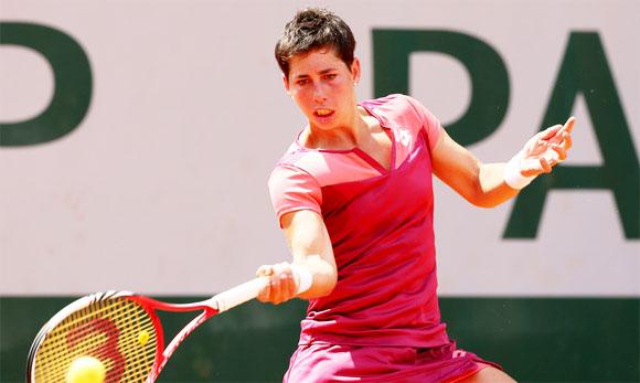Карла Суарес Наварро на Открытом Чемпионате Франции по теннису