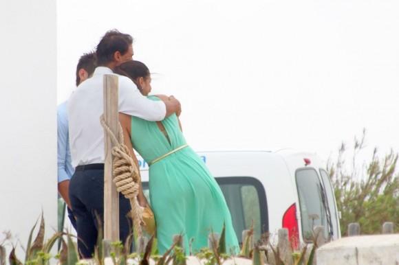 Рафаэль Надаль отдыхает со своей девушкой в отпуске