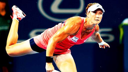 Саманта Стосур на турнире WTA-тура
