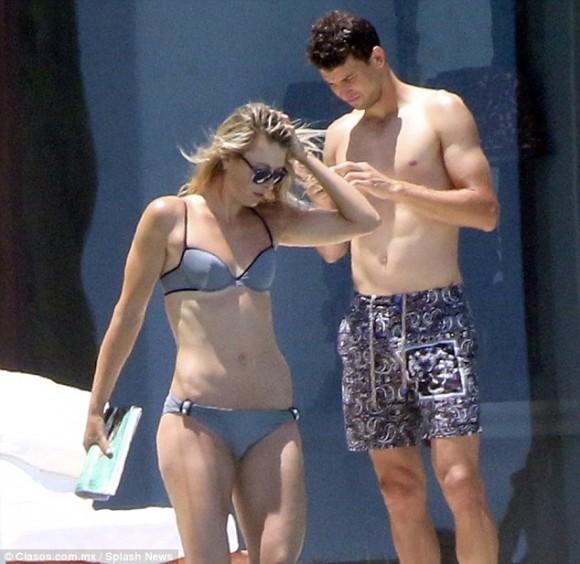 Мария Шарапова и Григор Димитров на каникулах в Мексике