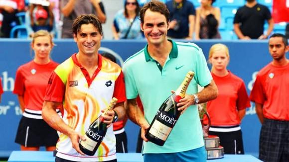 Роджер Федерер выиграл 80-й турнир в Цинциннати