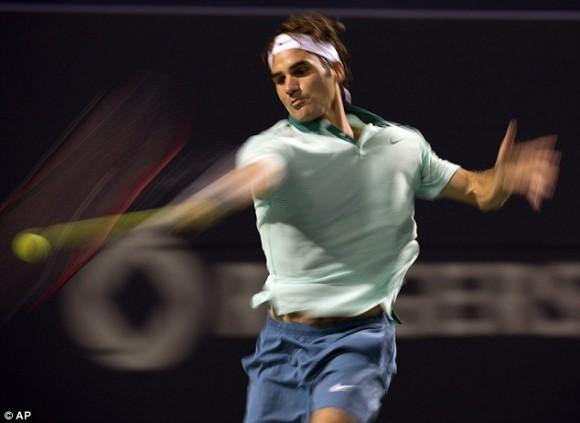 Экс-первая ракетка мира Роджер Федерер из Швейцарии