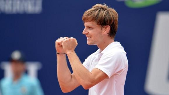 Бельгиец Давид Гоффин выиграл первый титул ATP в карьере
