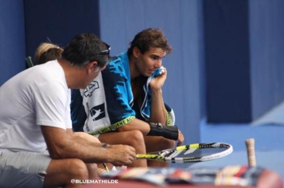 Рафаэль Надаль готовится к US Open на Мальорке