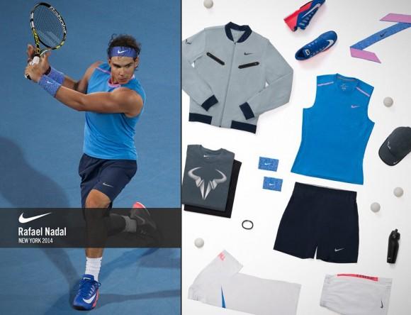 Форма Рафаэля Надаля на US Open