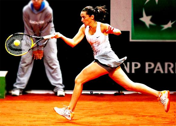Роберта Винчи на Открытом Чемпионате Франции по теннису