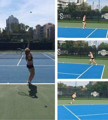 Алла Кудрявцева опубликовала фотографии своей тренировки